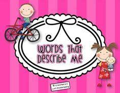 Phrases used in descriptive essays